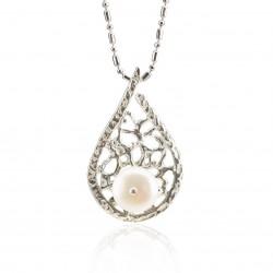 Colgante mediterráneo perla cultivada